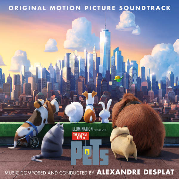 The Secret life of pets ost cover