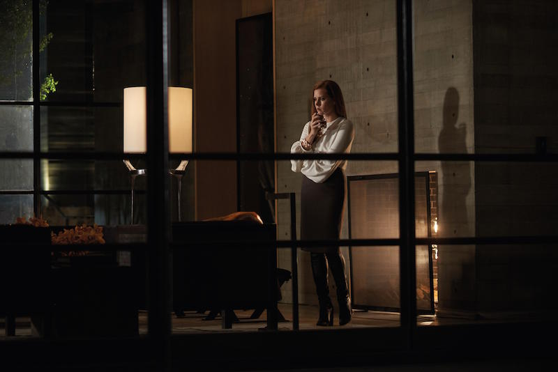 NOCTURNAL ANIMALS drinking Amy Adams