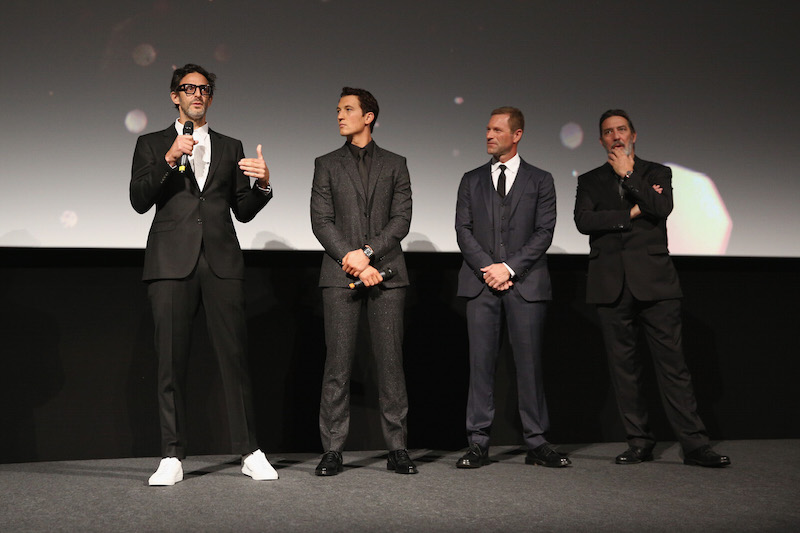 Bleed For This Ben Young Miles Teller Aaron Eckhart and Ciaran Hinds Tim P. Whitby Getty Images for BFI