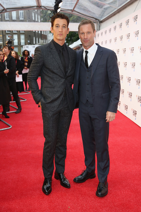 Bleed For This Miles Teller and Aaron Eckhart Tim P. Whitby Getty Images for BFI