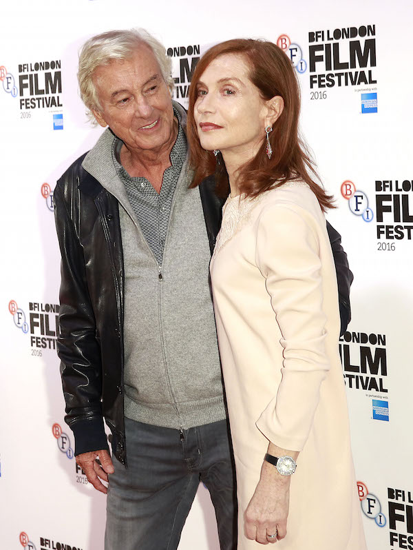 Elle Official Paul Verhoeven Isabelle Huppert John Phillips Getty Images for BFI