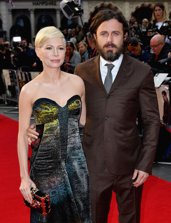 Manchester Michelle Williams Casey Affleck Gareth Cattermole Getty Images for BFI