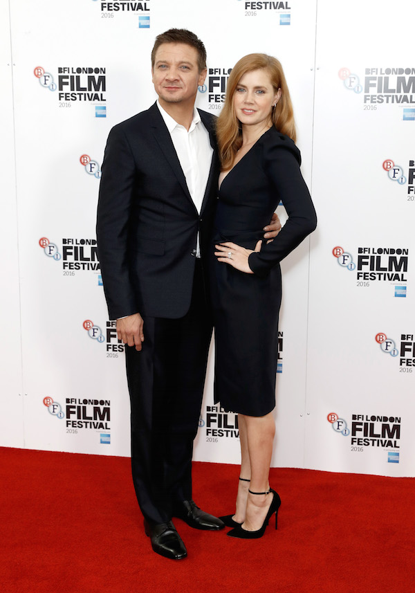 Arrival PR Jeremy Renner and Amy Adams John Phillips Getty Images for BFI