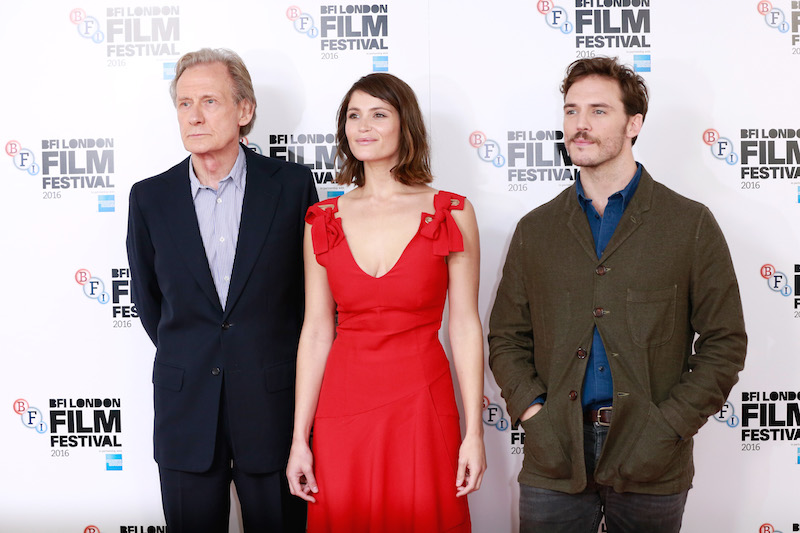 Their Finest Bill Nighy Gemma Arterton and Sam Claflin John Phillips Getty Images for BFI