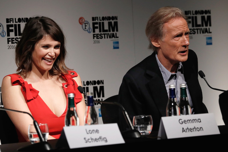 Their Finest Gemma Arterton and Bill Nighy John Phillips Getty Images for BFI