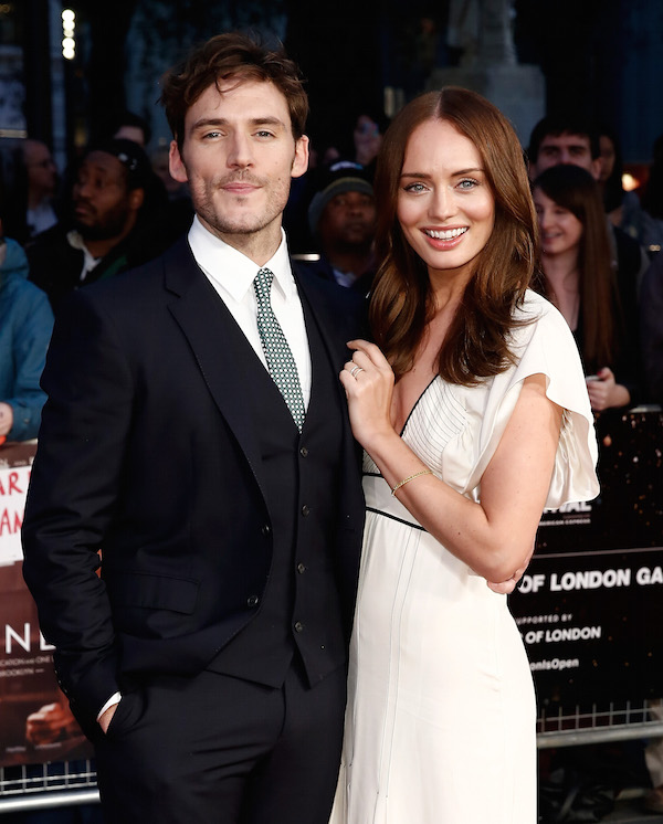 Their Finest Sam Claflin and Laura Haddock John Phillips Getty Images for BFI
