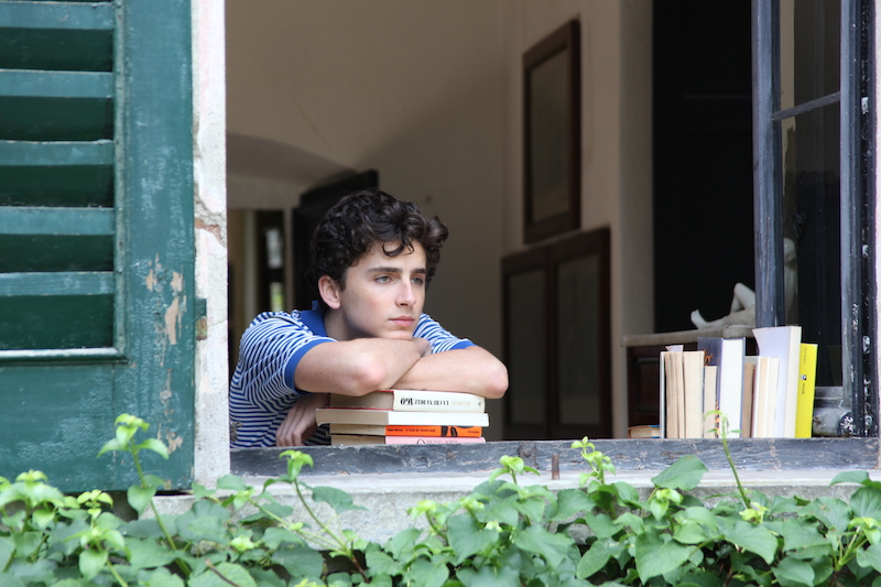 CALL ME BY YOUR NAME window