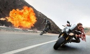 Kadr z Mission: Impossible 5 - Rogue Nation