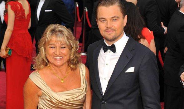 Leonardo DiCaprion i jego matka Irmelin