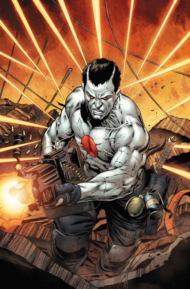 Grafika przedstawiająca bohatera serii Bloodshot!