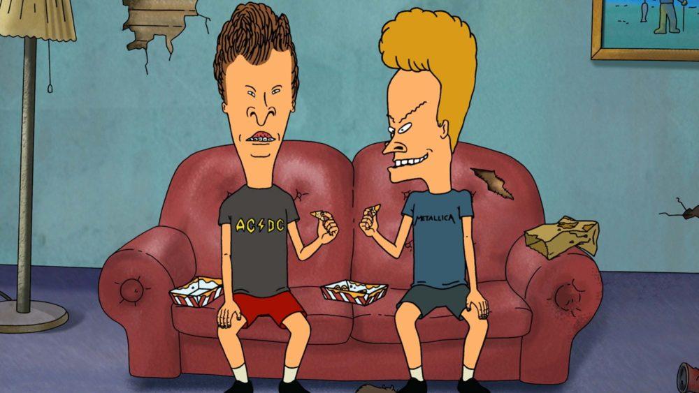 kadr z serialu Beavis i Butt-Head