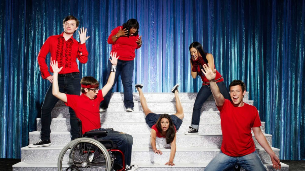 plakat Glee