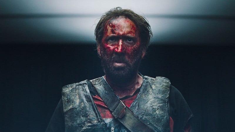 "Nicolas Cage w filmie ""Mandy"" reż. Panos Cosmatos / fot. materiały prasowe"