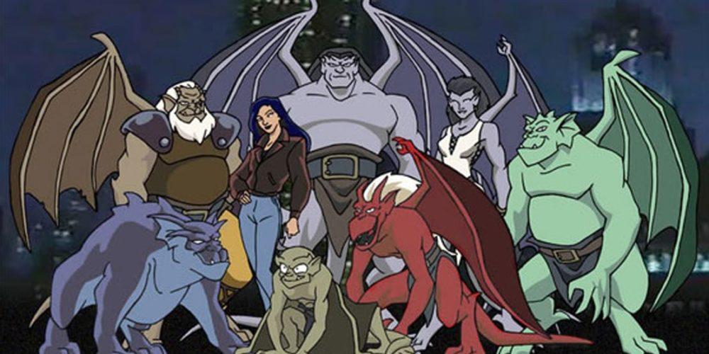 Kadr z serialu Gargoyles