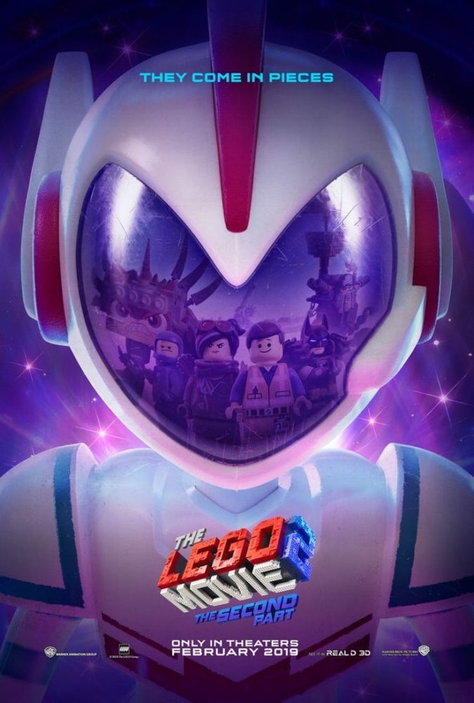 plakat filmu Lego: Przygoda 2
