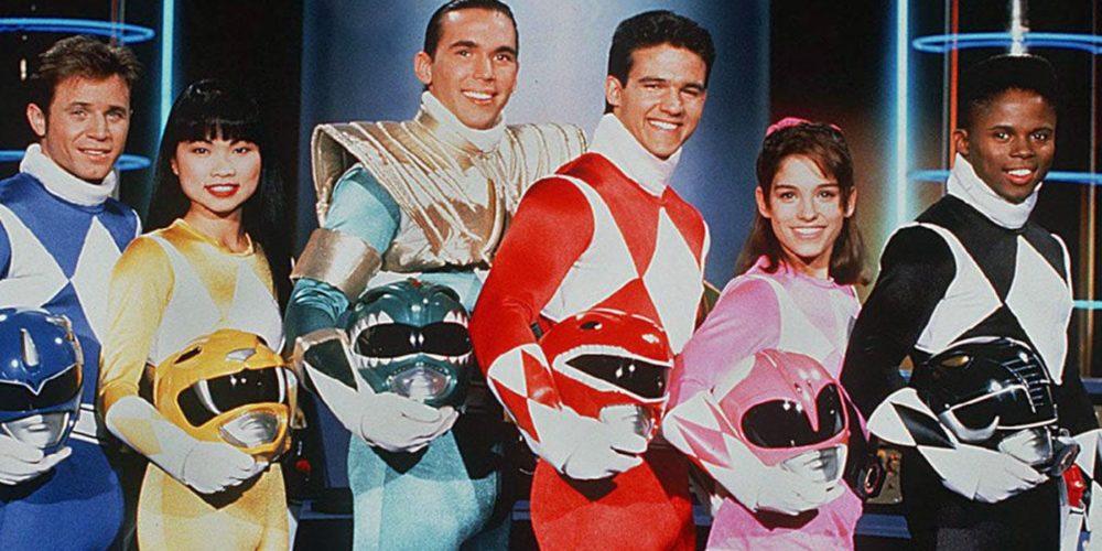 Power Rangers - oryginalna drużyna