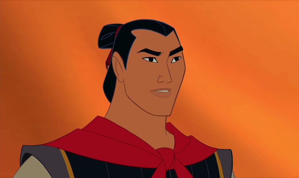 Kadr z animowanego filmu Disneya pt. Mulan!