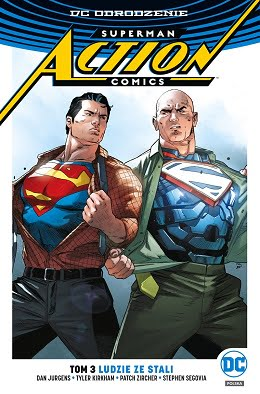 Superman - Action Comics tom 3 - Ludzie ze Stali