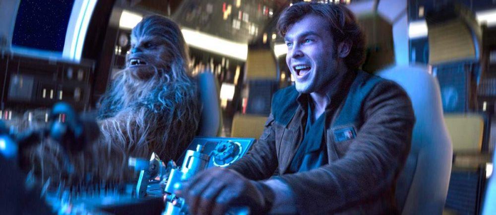 Chewbacca i Han Solo