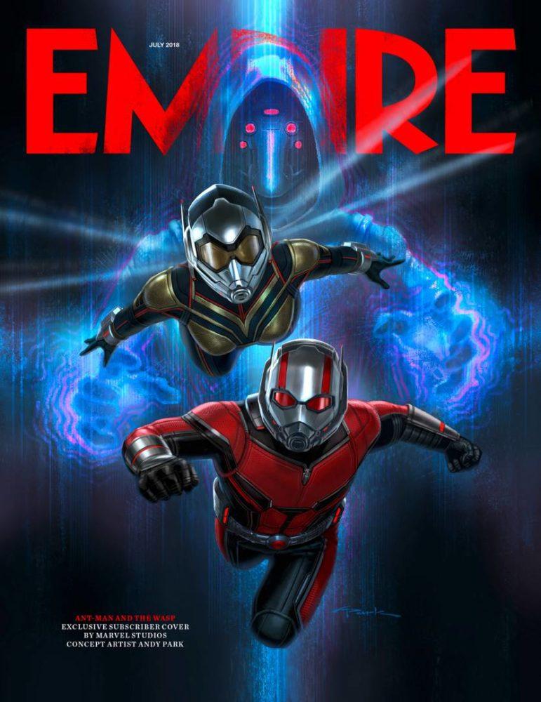 Grafika promująca film Ant-Man i Osa!