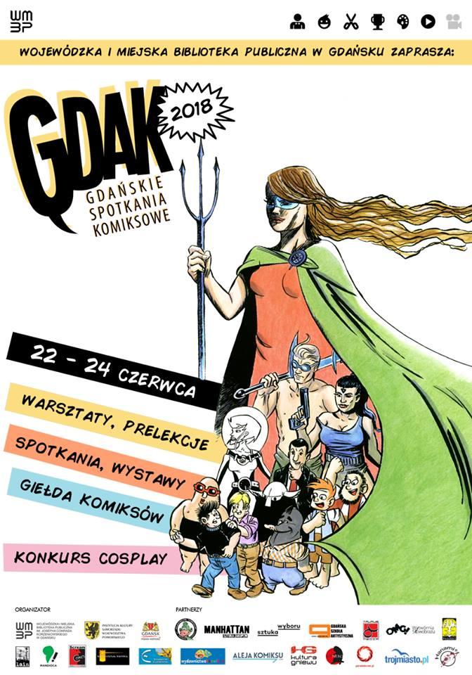 GDAK 2018 - gdańskie spotkania komiksowe