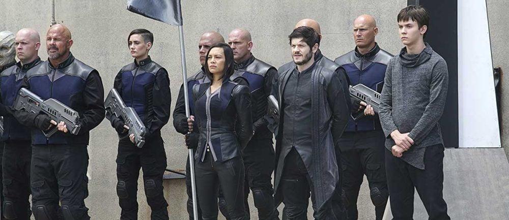 Kadr z serialu Inhumans