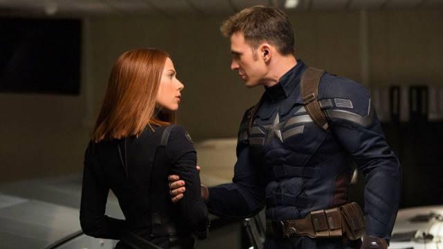 Black Widow i Captain America