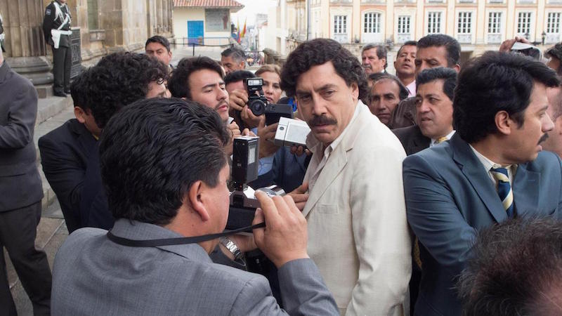 Javier Bardem w filmie Kochając Pabla, nienawidząc Escobara / fot. materiały prasowe