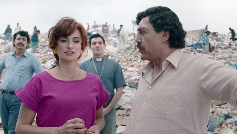 Penelope Cruz i Javier Bardem w filmie Kochając Pabla, nienawidząc Escobara / fot. materiały prasowe