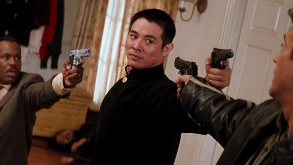 Kadr z filmu Zabójcza broń 4