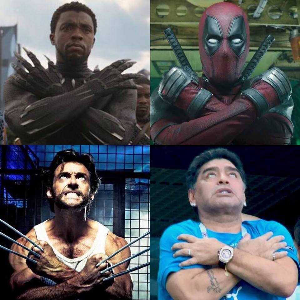 mem maradona superbohater gest mundial