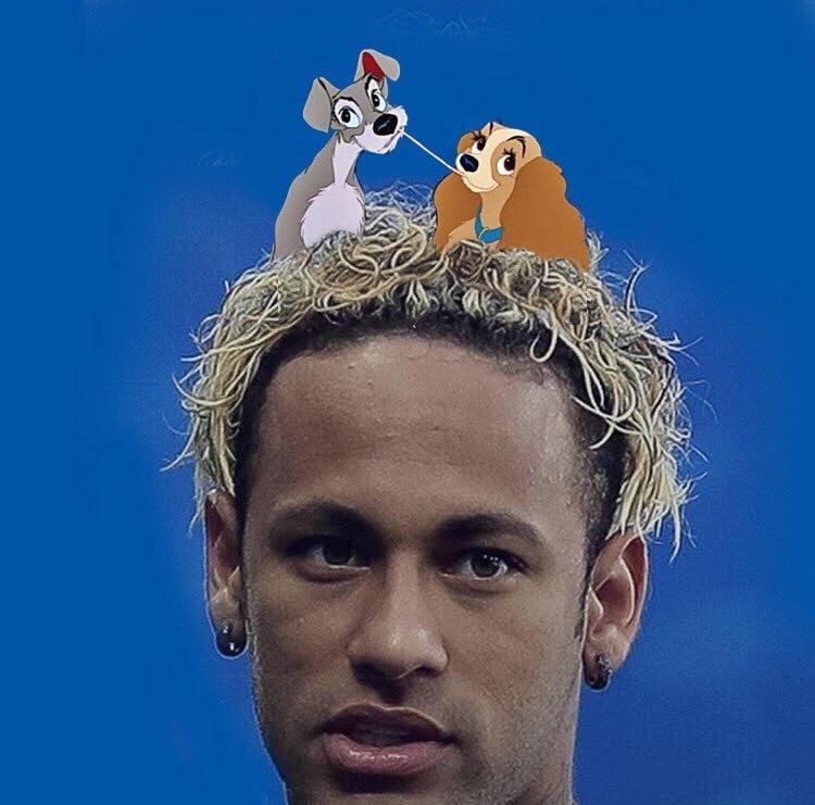 mem mundial włosy neymar