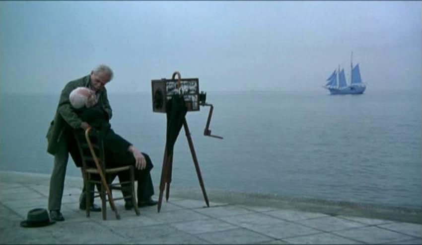 Fot. kadr z filmu Spojrzenie Odyseusza