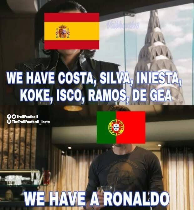 memy mundial cristiano ronaldo