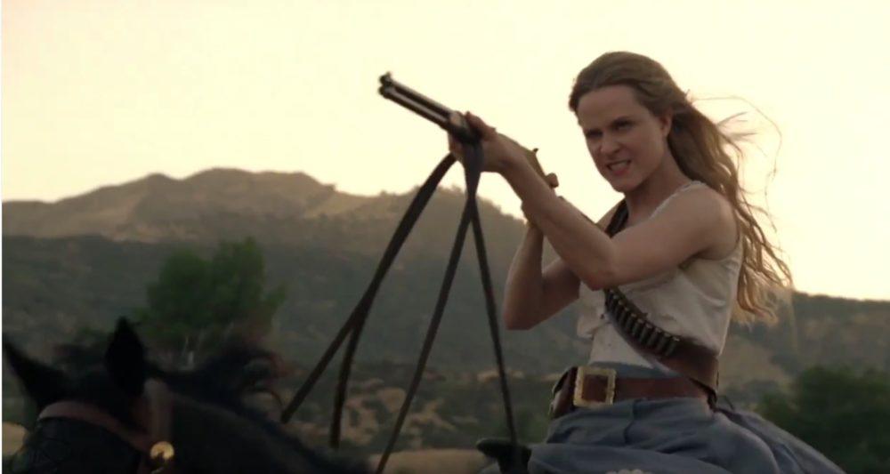 Kadr z serialu Westworld