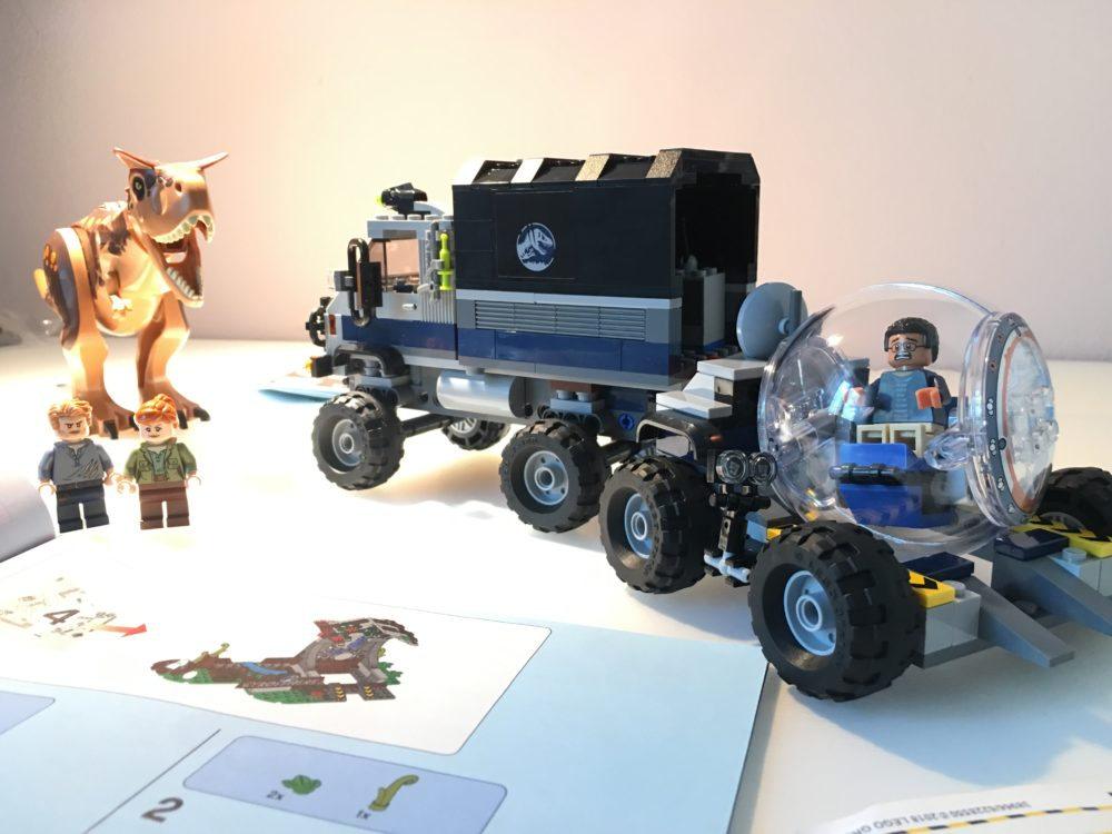 Jurassic World LEGO 75929 unboxing