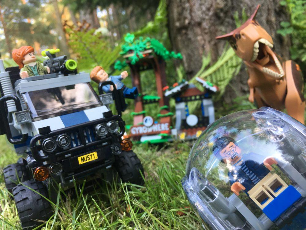 Jurassic World LEGO 75929 unboxing