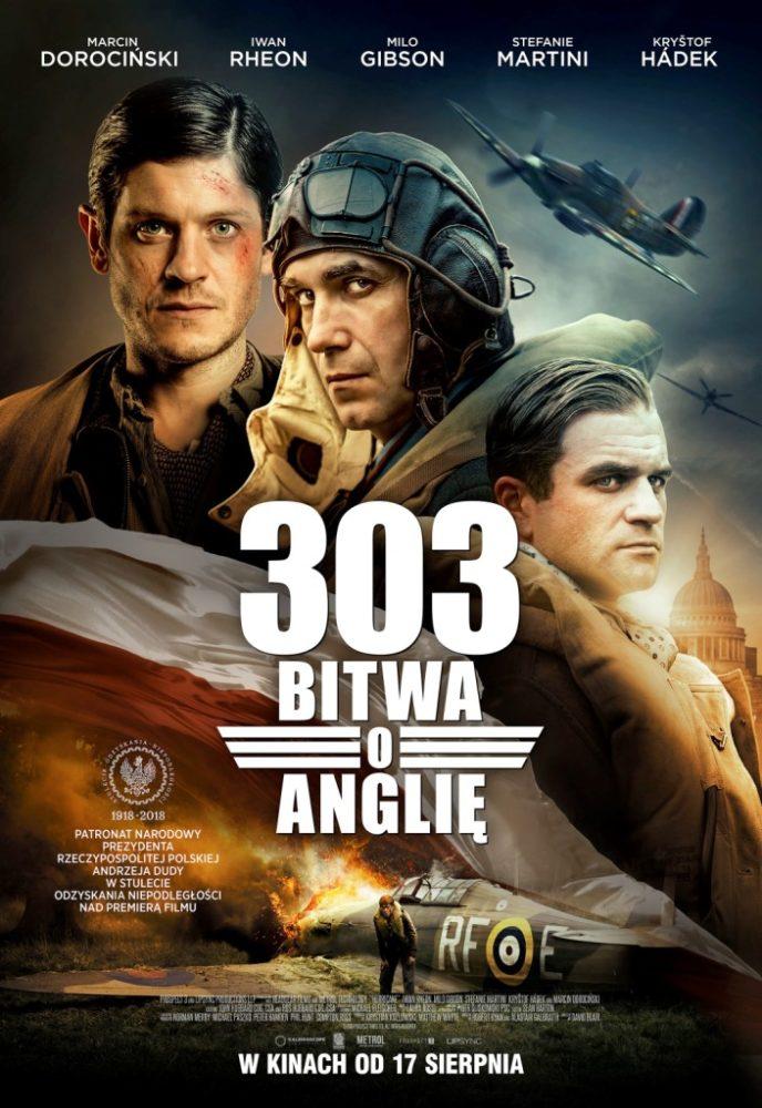 303 bitwa o anglię plakat film dywizjon 303