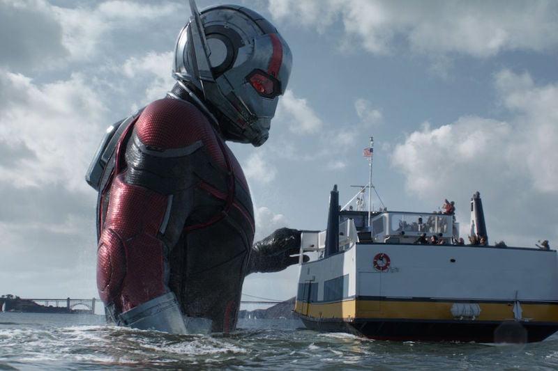 Kadr z filmu Ant-Man i Osa, reż. Peyton Reed / fot. materiały prasowe