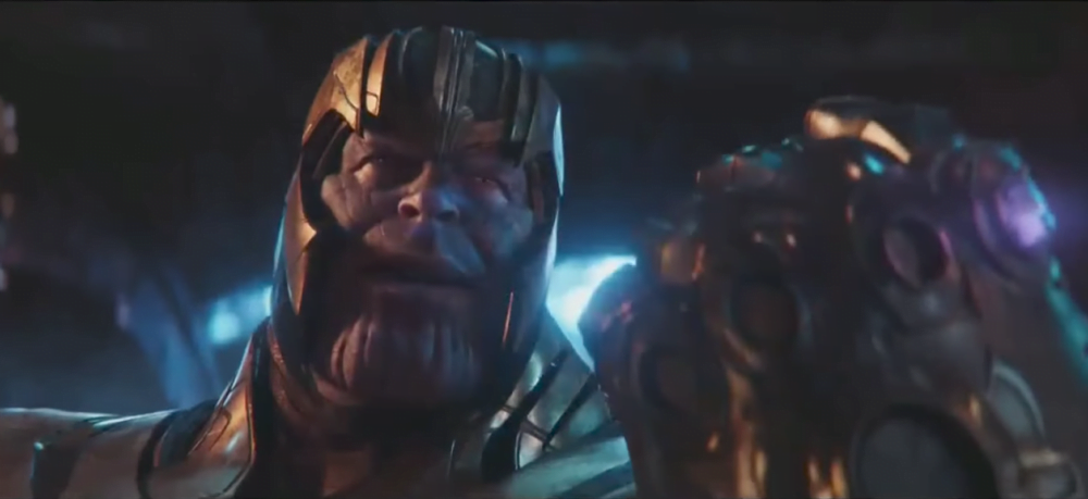 Kadr z filmu Avengers: Wojna bez granic