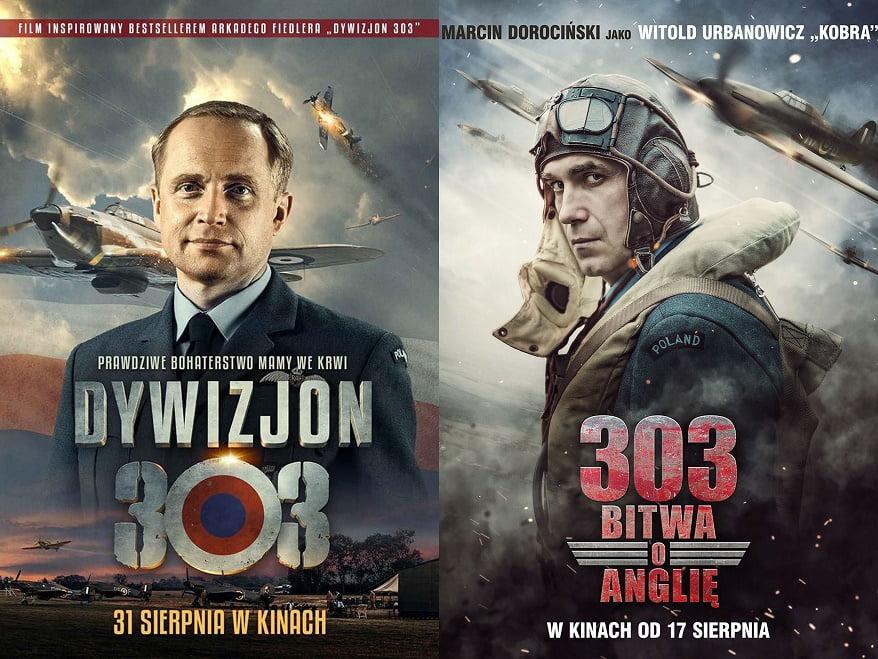 dywizjon 303 sierpień kino 2 filmy