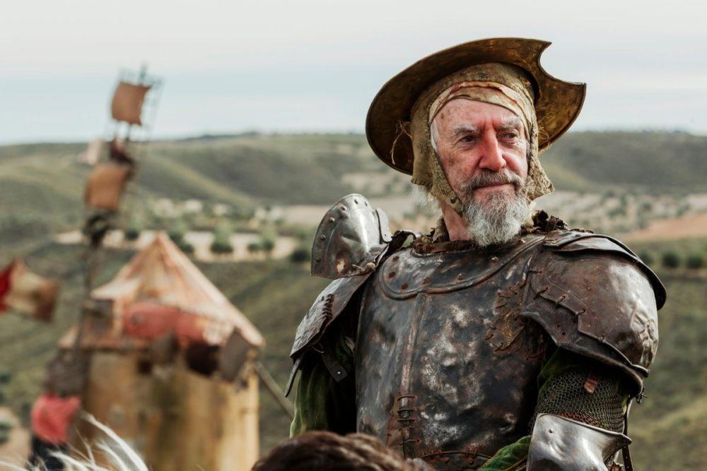 Kadr z filmu Człowiek, który zabił Don Kichota