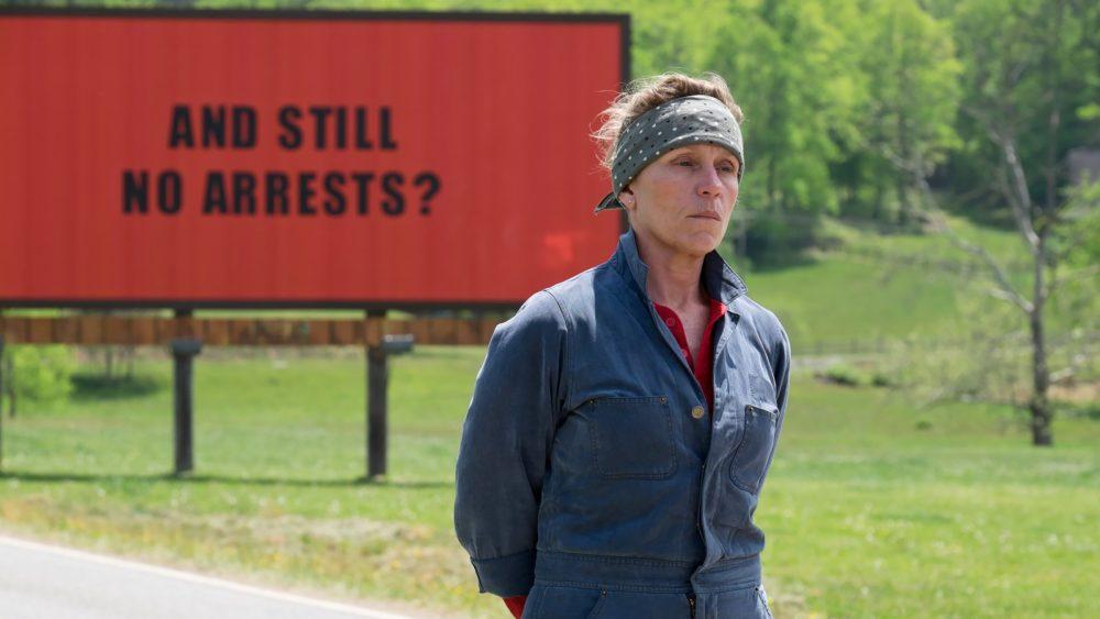 Kadr z filmu Trzy Billboardy za Ebbing, Missouri - McDormand