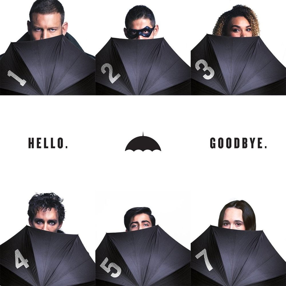 bohaterowie umbrella academy