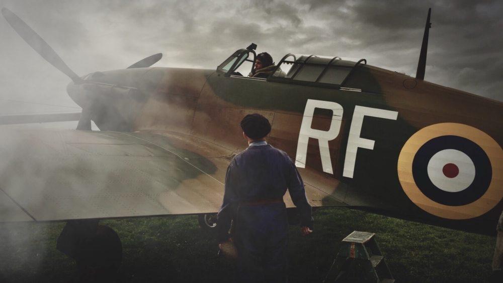 303 Bitwa o Anglię Iwan Rheon Hurricane