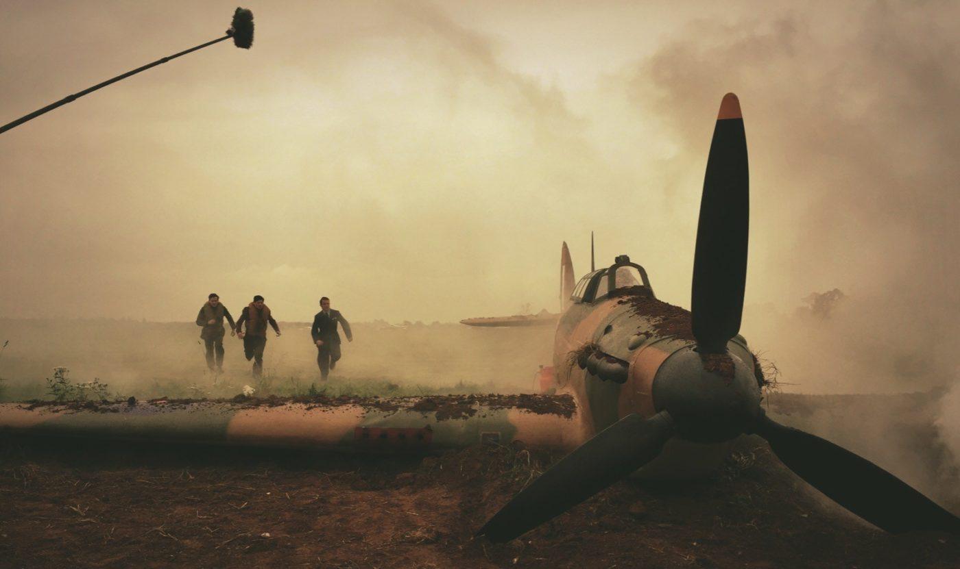 303 bitwa o anglię hurricane samolot zdjęcie z planu