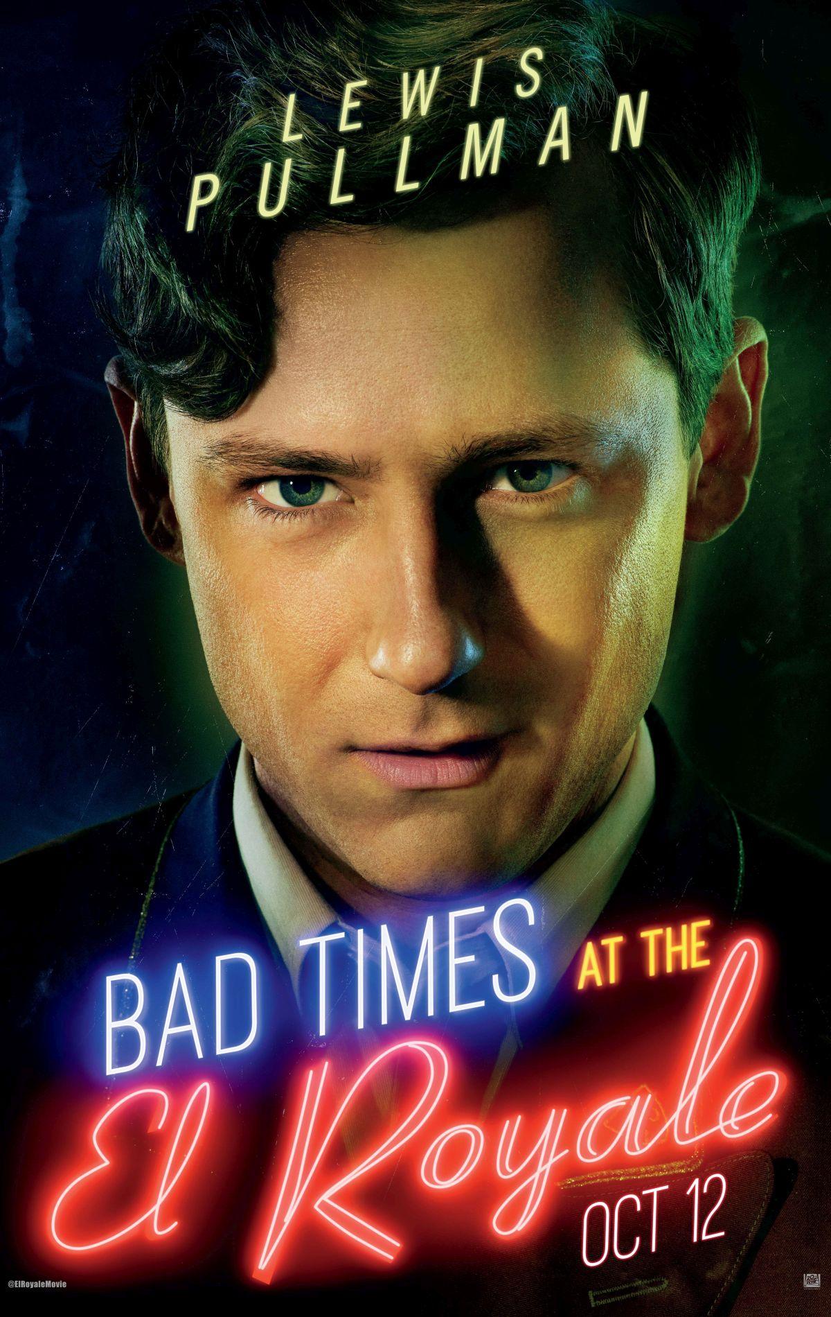 Plakat promujący film Źle się dzieje w El Royale