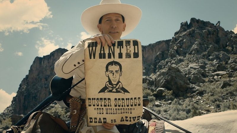 Kadr z filmu The Ballad of Buster Scruggs / fot. materiały prasowe