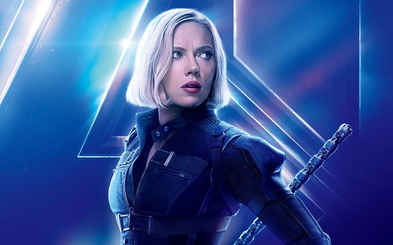 Czarna Wdowa w Avengers / Scarlett Johansson 4 / Scarlett Johansson