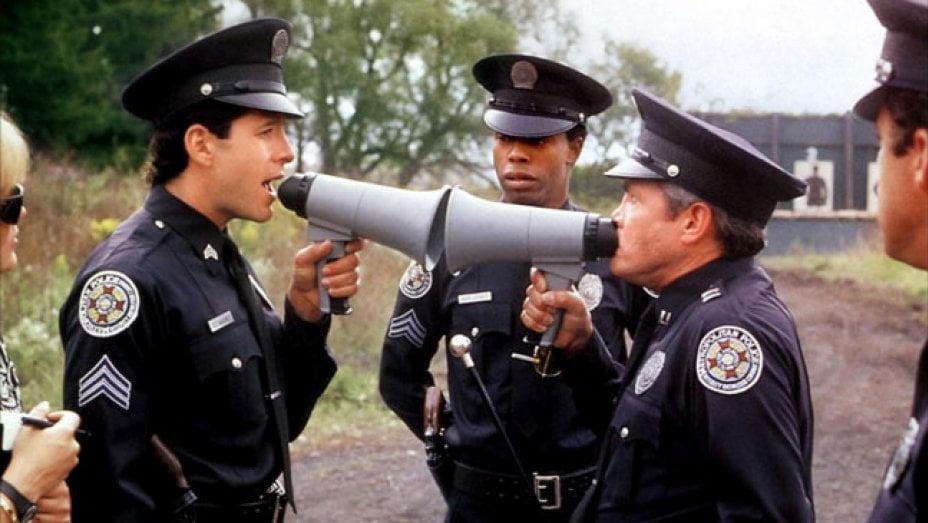 Akademia policyjna - śmieszne filmy